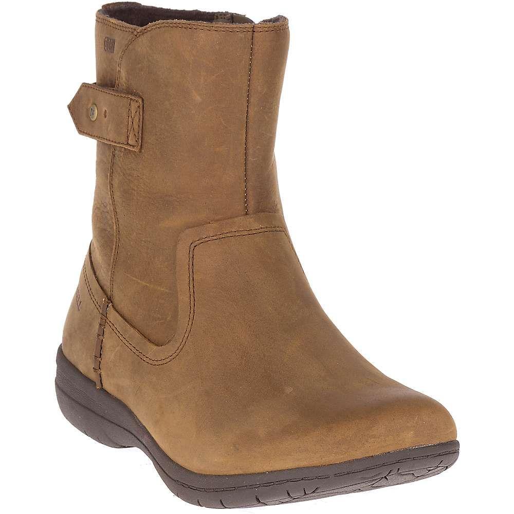 メレル Merrell レディース ハイキング・登山 シューズ・靴【Encore Kassie Mid Waterproof Boot】Merrell Tan
