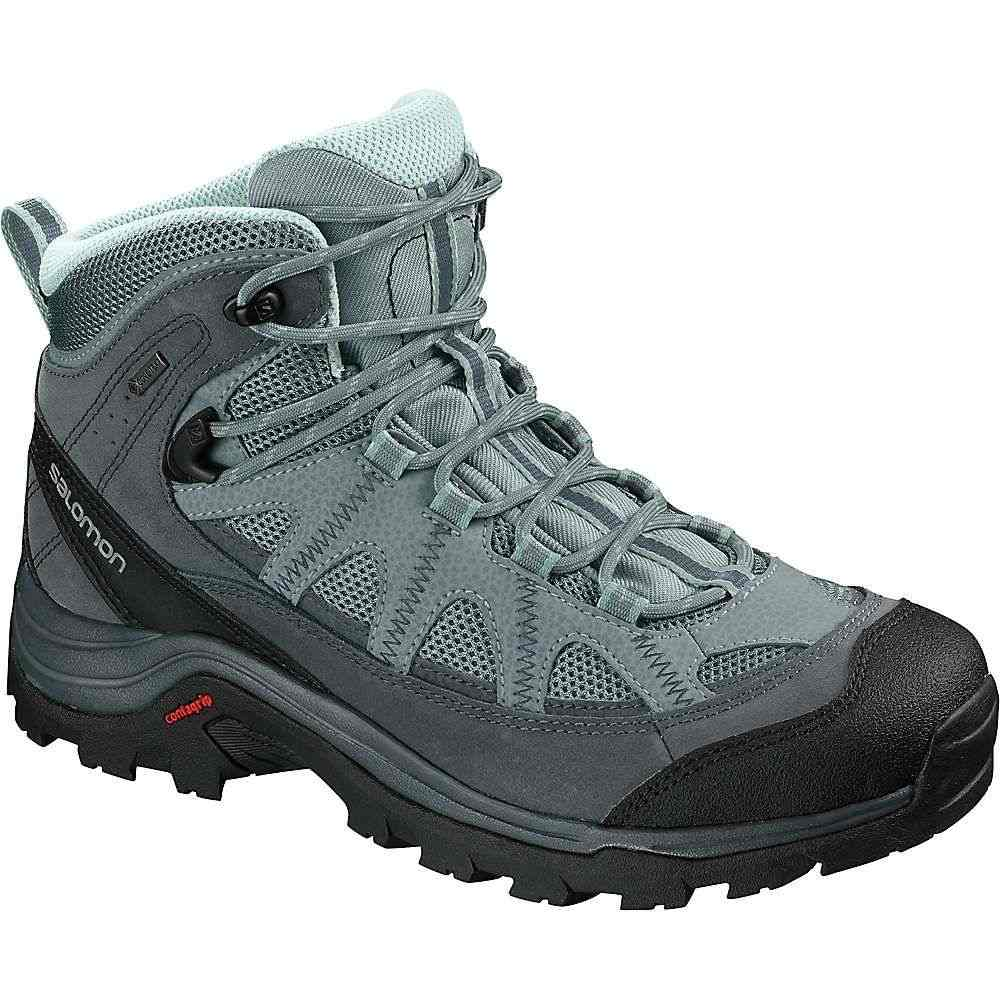 サロモン Salomon レディース ハイキング・登山 シューズ・靴【Authentic LTR GTX Boot】Lead / Stormy Weather / Eggshell Blue