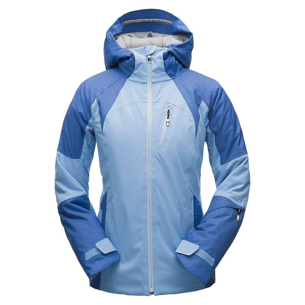 スパイダー Spyder レディース スキー・スノーボード アウター【Inna Jacket】Blue Ice / Turkish Sea