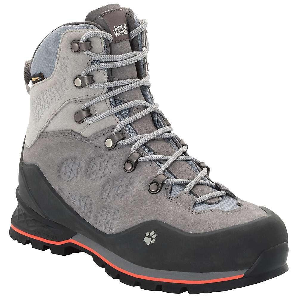 ジャックウルフスキン Jack Wolfskin レディース ハイキング・登山 シューズ・靴【Wilderness Texapore Mid Boot】Tarmac Grey