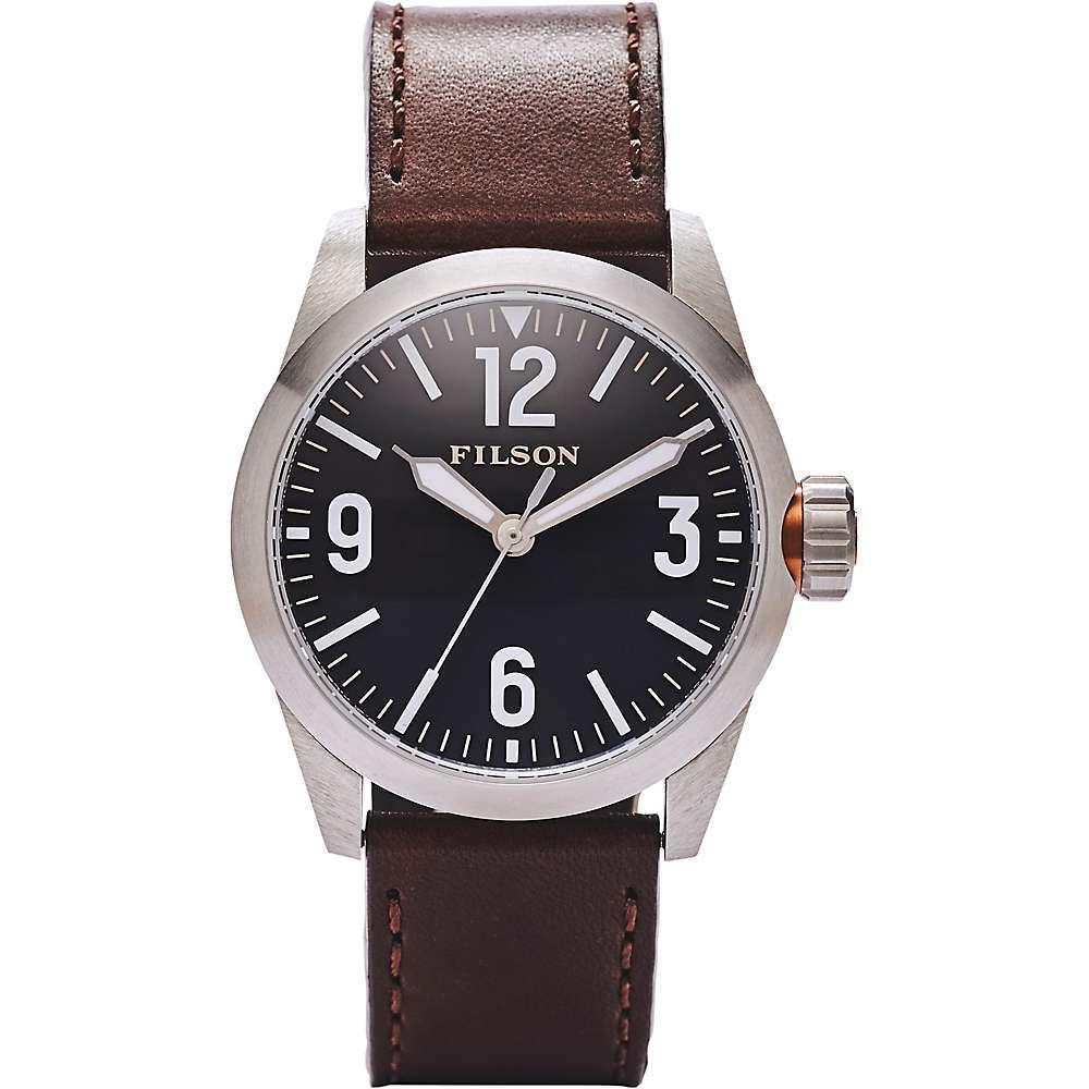 フィルソン Filson メンズ 腕時計【Standard Issue Field Watch】Black