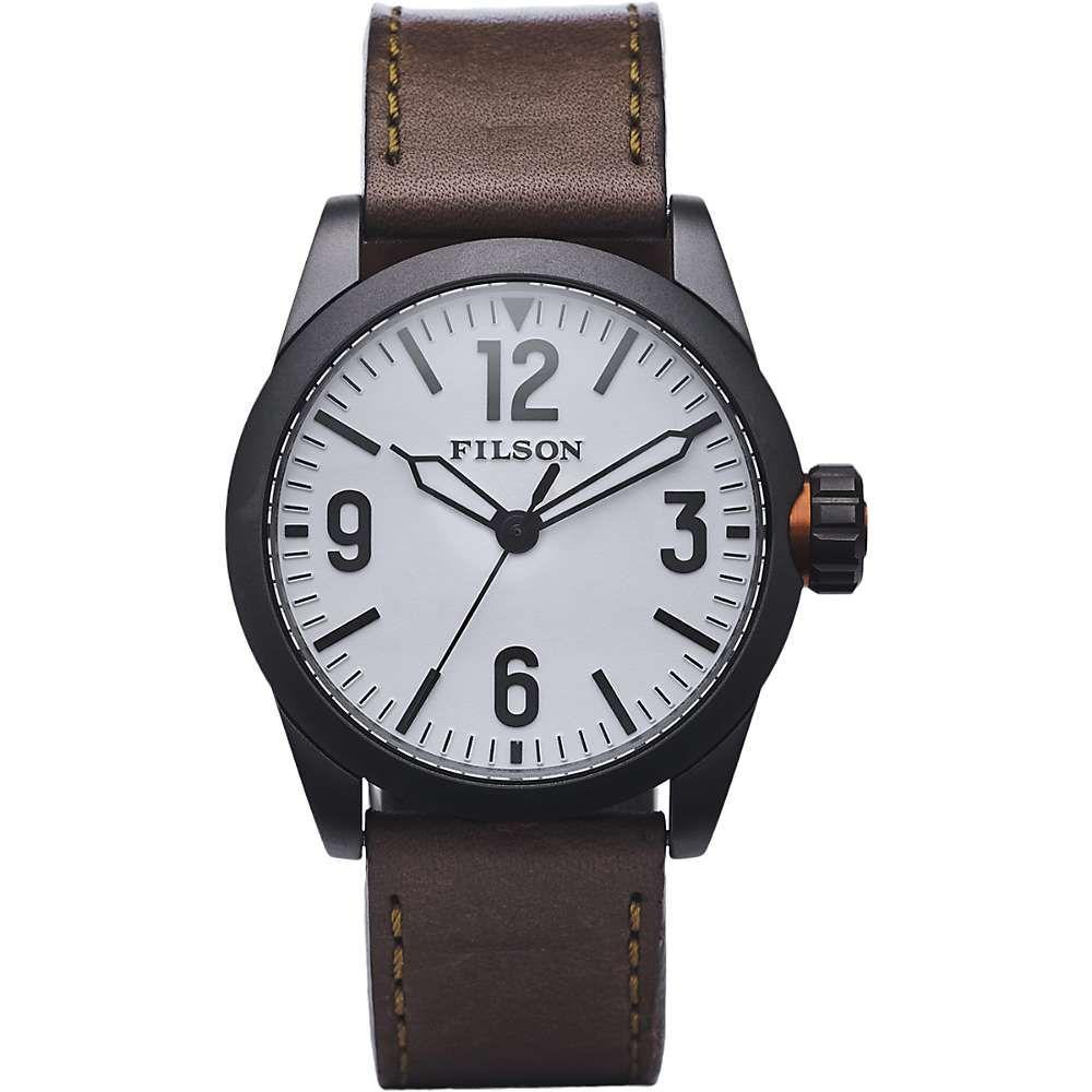 フィルソン Filson メンズ 腕時計【Standard Issue Field Watch】White
