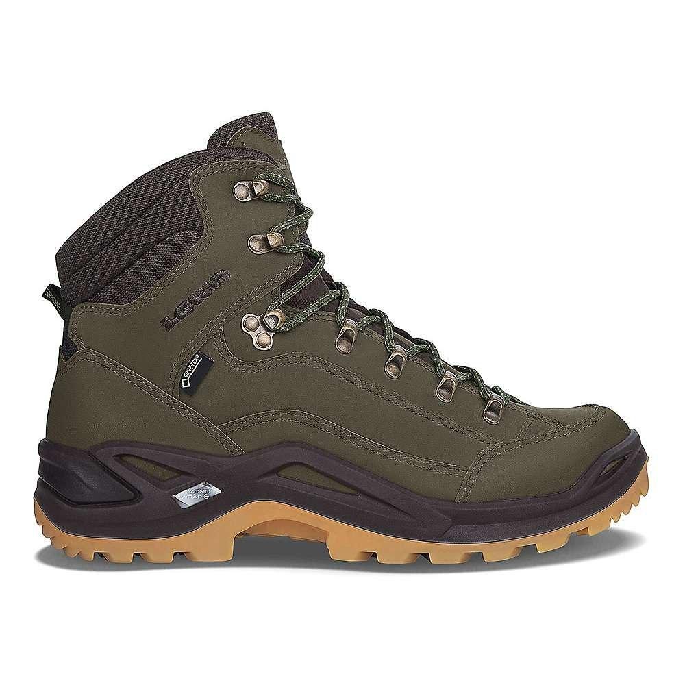 ローバー Lowa Boots メンズ ハイキング・登山 シューズ・靴【Lowa Renegade GTX Mid Boot】Forest / Dark Brown