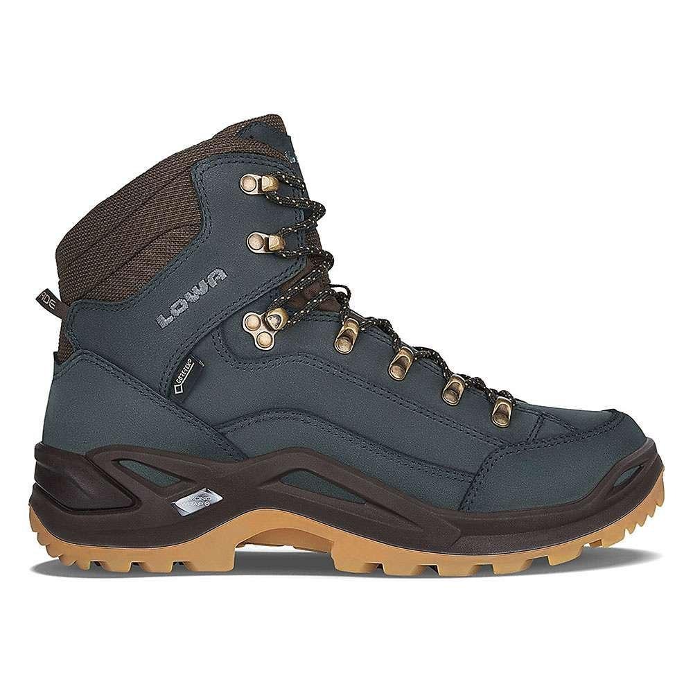 ローバー Lowa Boots メンズ ハイキング・登山 シューズ・靴【Lowa Renegade GTX Mid Boot】Navy / Honey