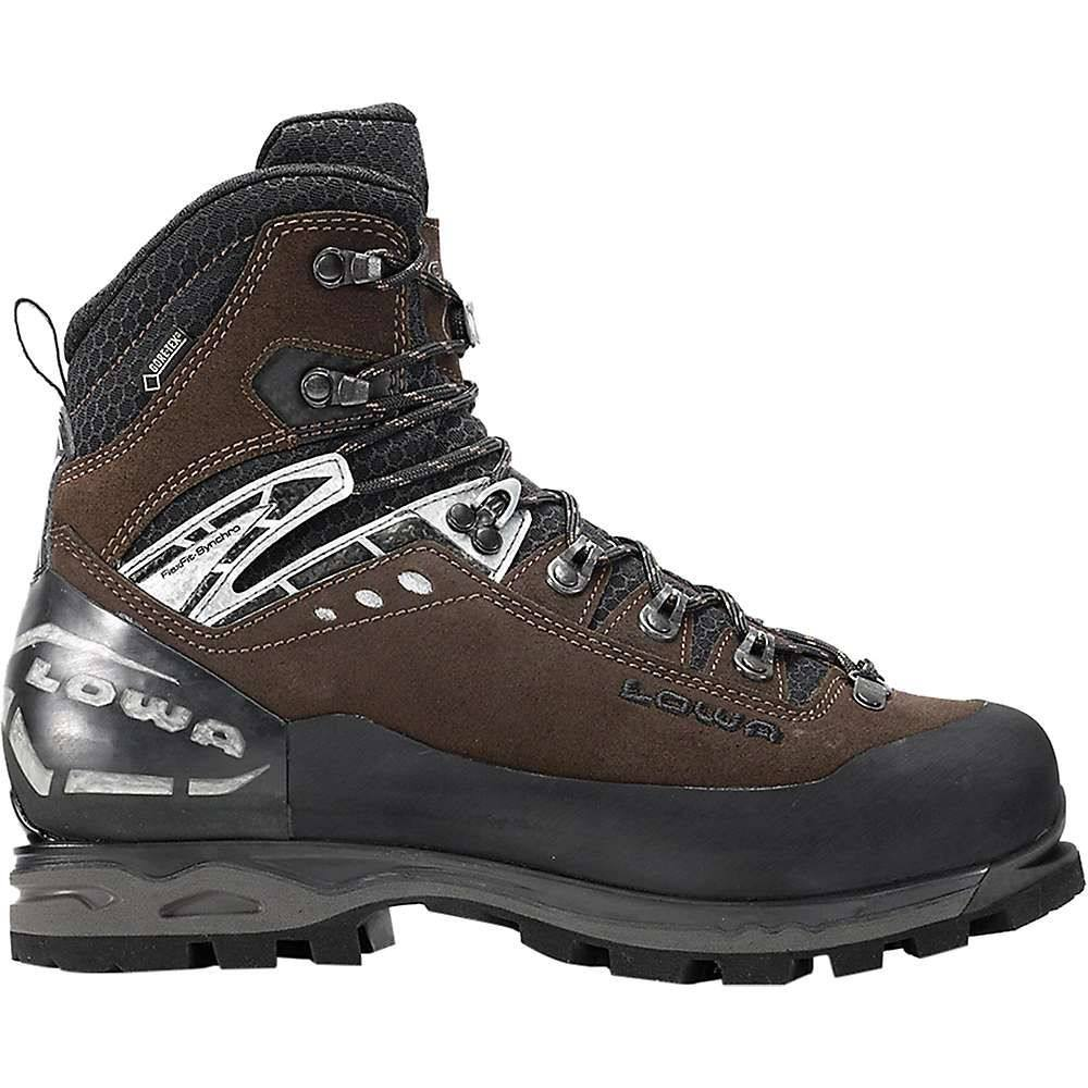 玄関先迄納品 ローバー Lowa Boots メンズ ハイキング Mountain・登山 シューズ/・靴 Evo【Lowa Mountain Expert GTX Evo Boot】Brown/ Black, SilverKYASYA:af408ad1 --- canoncity.azurewebsites.net