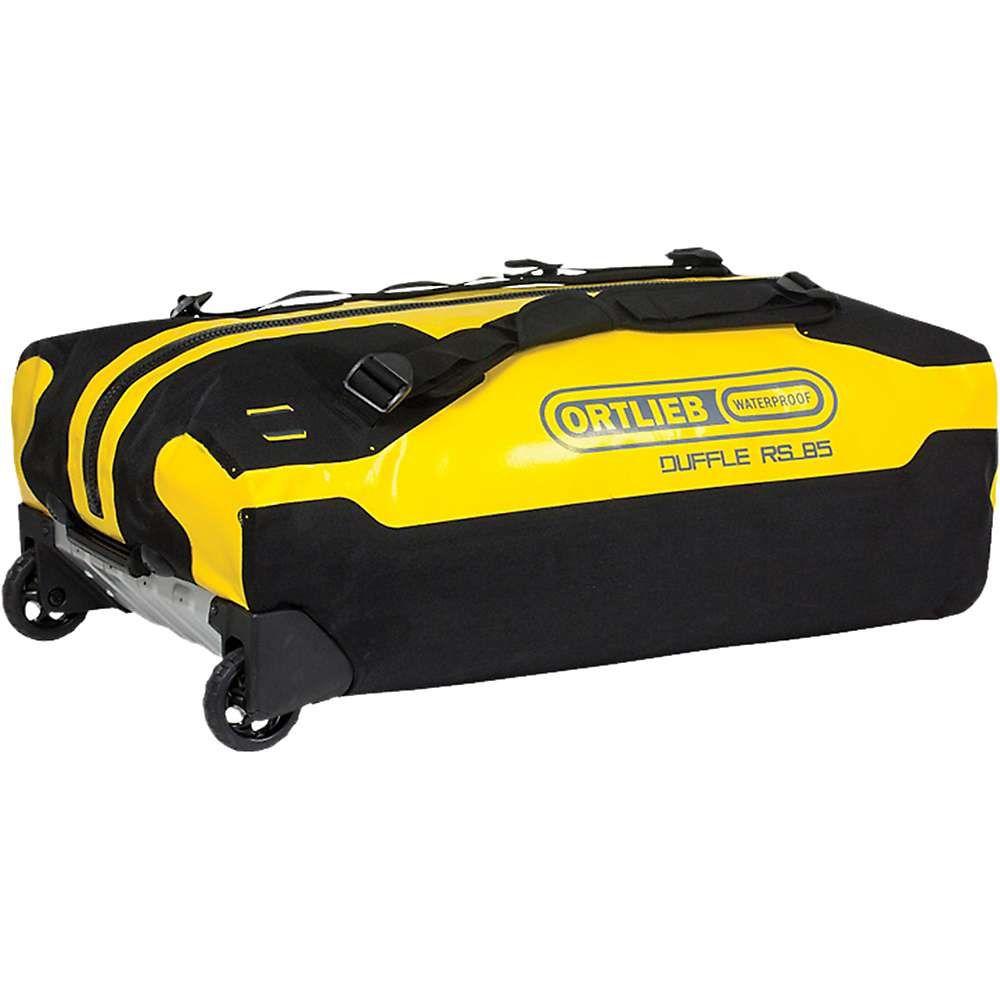 オートリービー Ortlieb ユニセックス バッグ スーツケース・キャリーバッグ【Duffle RS 85L Wheeled Luggage】Sun Yellow / Black