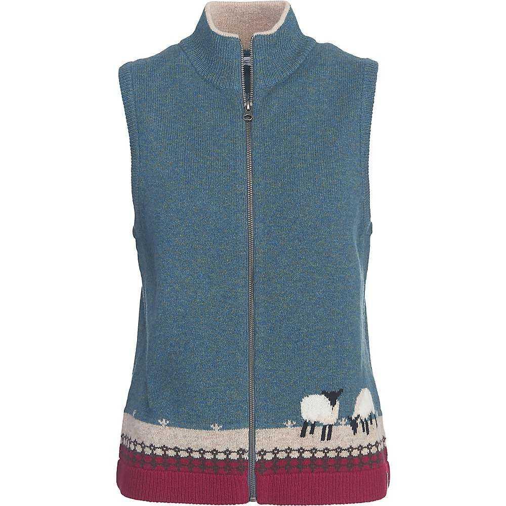 ウールリッチ Woolrich レディース トップス ベスト・ジレ【Grazing Sheep Vest】Ocean Blue