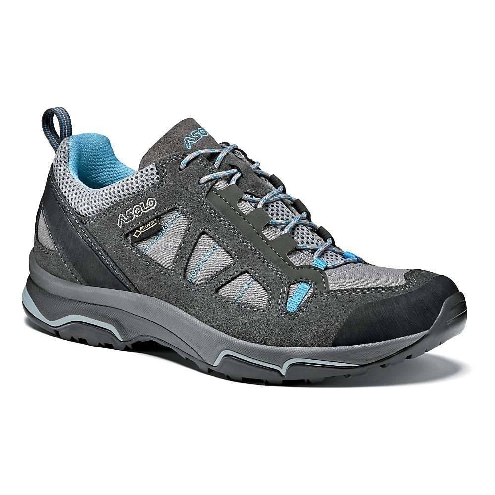 アゾロ Asolo レディース ハイキング・登山 シューズ・靴【Megaton GV Shoe】Graphite Stone / Cyan Blue