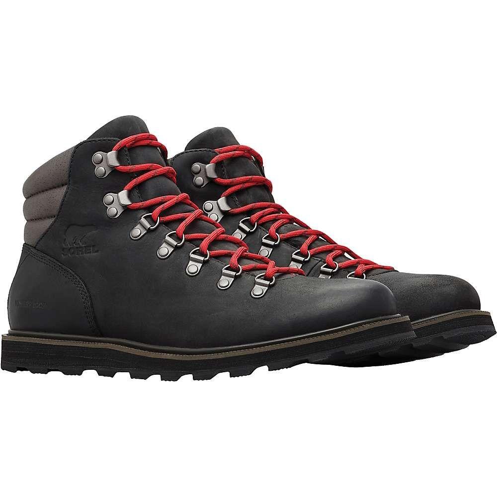 ソレル Sorel メンズ ハイキング・登山 シューズ・靴【Madson Hiker Waterproof Boot】Black