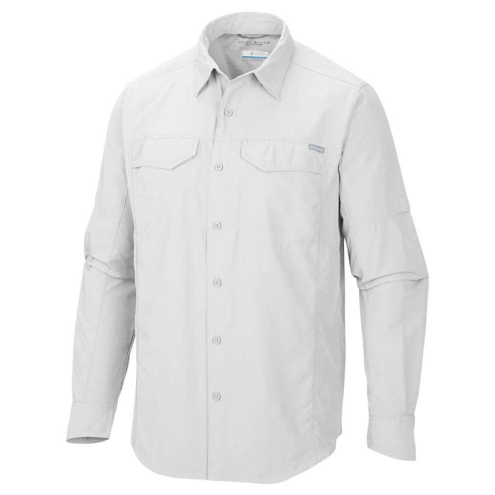 コロンビア Columbia メンズ ハイキング・登山 トップス【Silver Ridge Long Sleeve Shirt】White