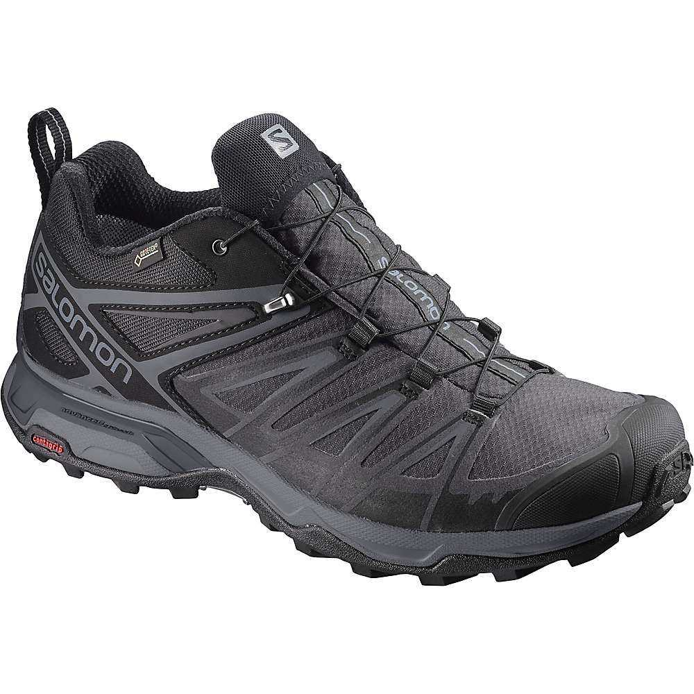 サロモン Salomon メンズ ハイキング・登山 シューズ・靴【X Ultra 3 GTX Shoe】Black / Magnet / Quiet Shade