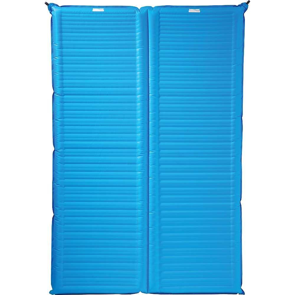 サーマレスト Thermarest ユニセックス ハイキング・登山【Therm-a-Rest Camper Double Mattress】Mediterranean Blue