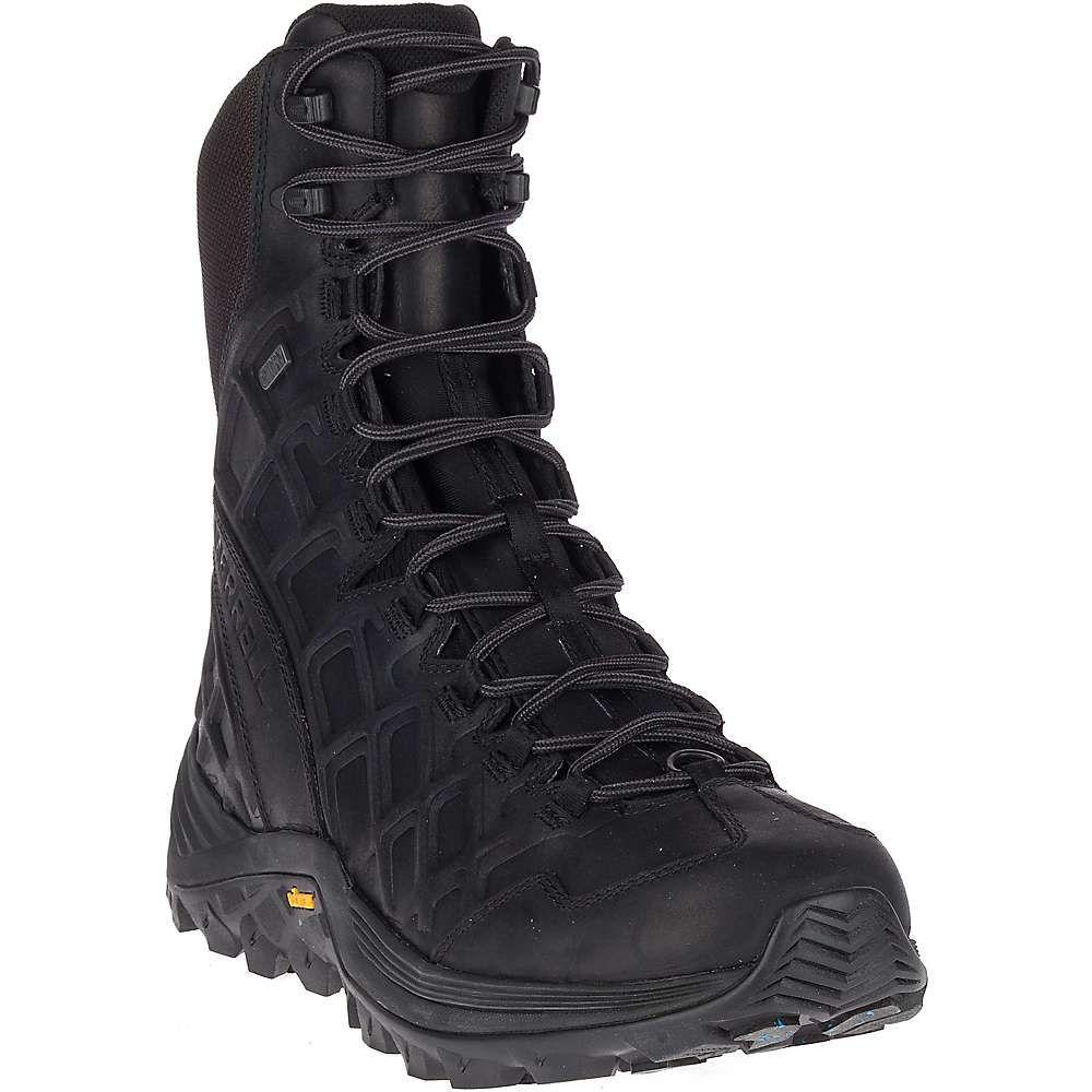 メレル Merrell メンズ ハイキング・登山 シューズ・靴【Thermo Rogue 8IN Leather Waterproof Ice+ Shoe】Black