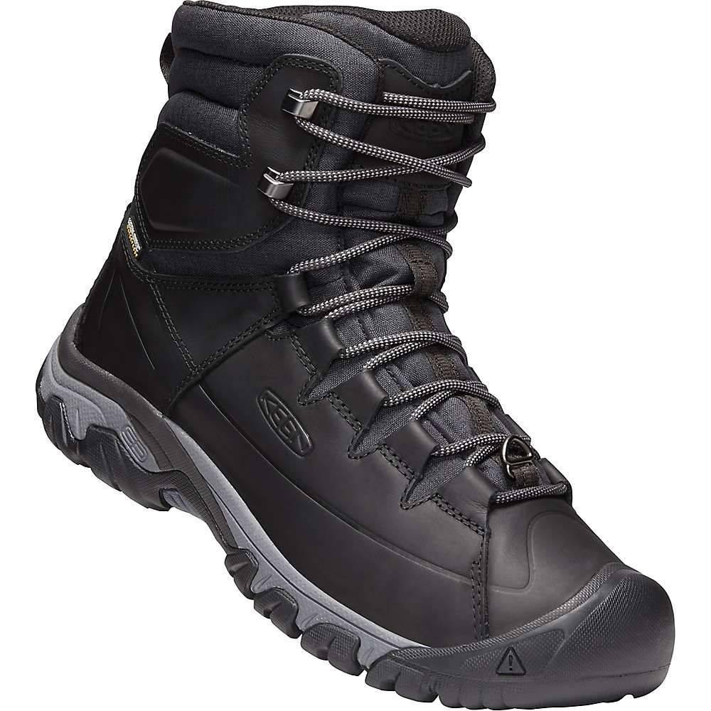 キーン Keen メンズ ハイキング・登山 シューズ・靴【Targhee Lace High Waterproof Boot】Black / Raven