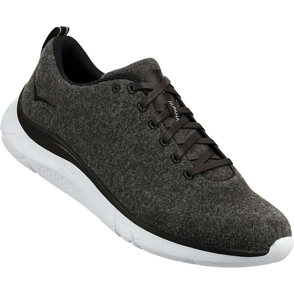 ホカ オネオネ Hoka One One メンズ ランニング・ウォーキング シューズ・靴【Hupana Wool Shoe】Neutral Grey / White