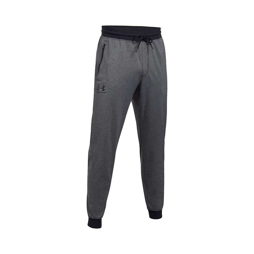 アンダーアーマー Under Armour メンズ ランニング・ウォーキング ボトムス・パンツ【Sportstyle Jogger Pant】Carbon Heather / Black
