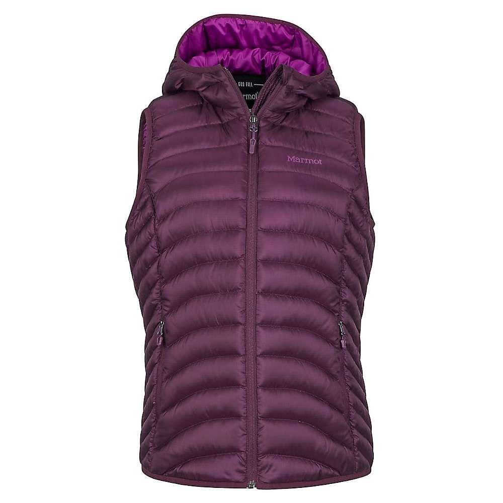 マーモット Marmot レディース トップス ベスト・ジレ【Bronco Hooded Vest】Dark Purple
