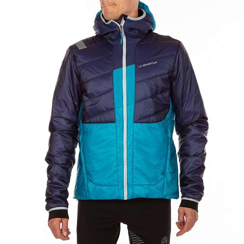 ラスポルティバ La Sportiva メンズ スキー・スノーボード アウター【Quake Primaloft Jacket】Indigo / Tropic Blue