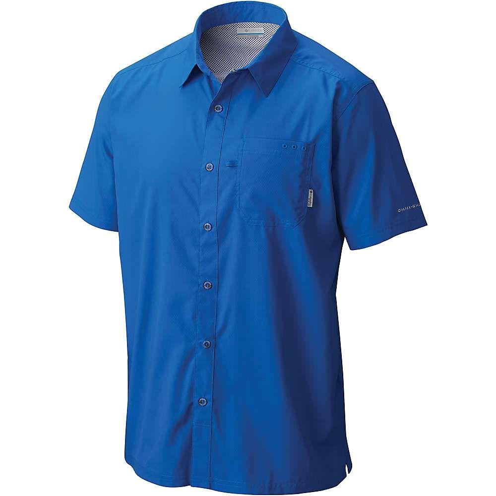 最も信頼できる コロンビア Columbia メンズ ハイキング・登山 トップス【Slack トップス【Slack Tide Shirt】Vivid Camp Tide Shirt】Vivid Blue, 牟岐町:7a0d88e0 --- canoncity.azurewebsites.net