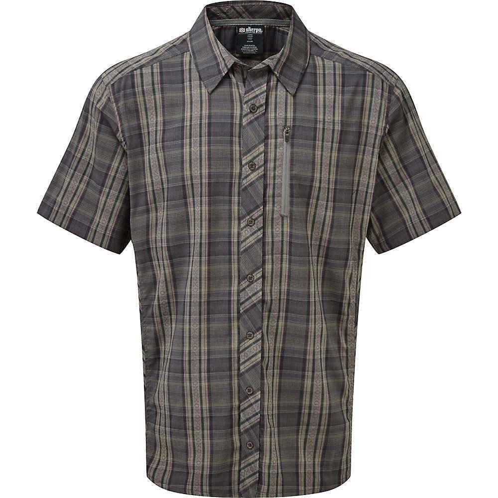 シェルパ Sherpa メンズ トップス 半袖シャツ【Gokyo SS Shirt】Monsoon Grey