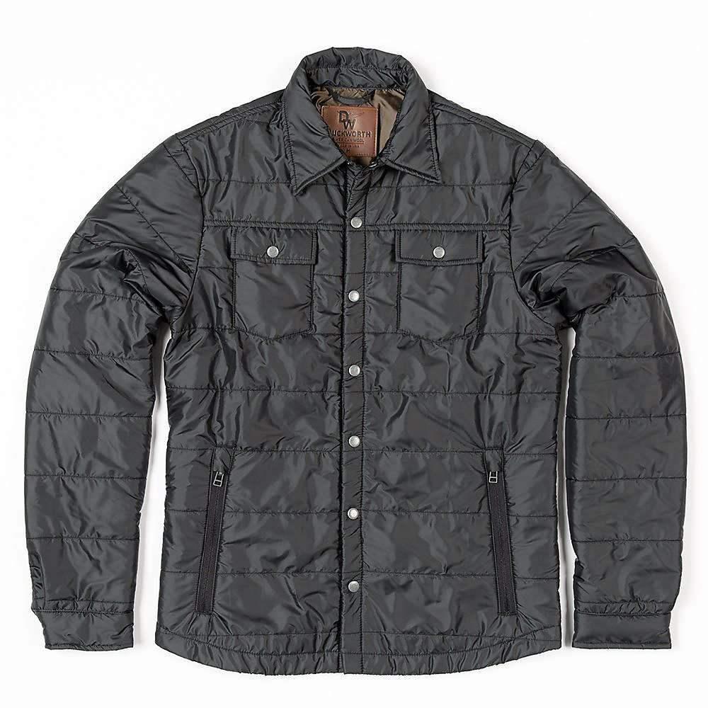 ダックワース Duckworth メンズ ハイキング・登山 トップス【WoolCloud Snapshirt】black