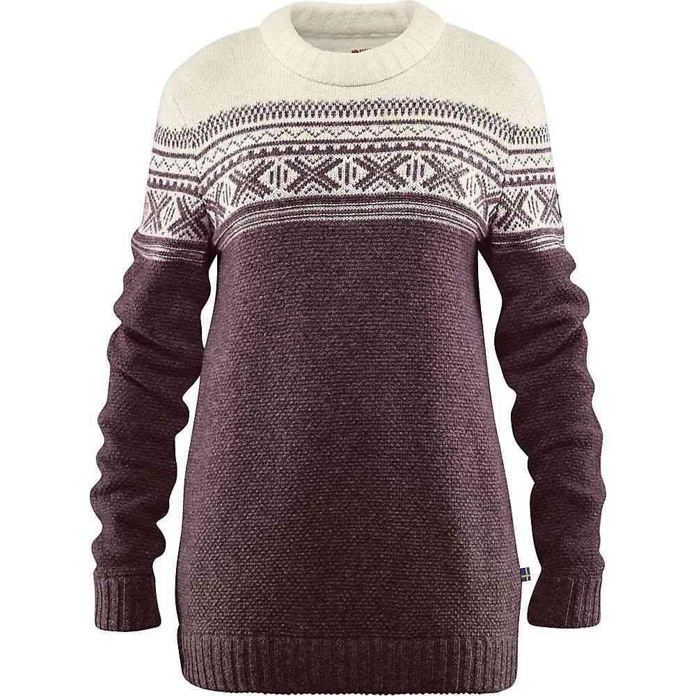 フェールラーベン Fjallraven レディース ハイキング・登山 トップス【Ovik Scandinavian Sweater】Dark Garnet