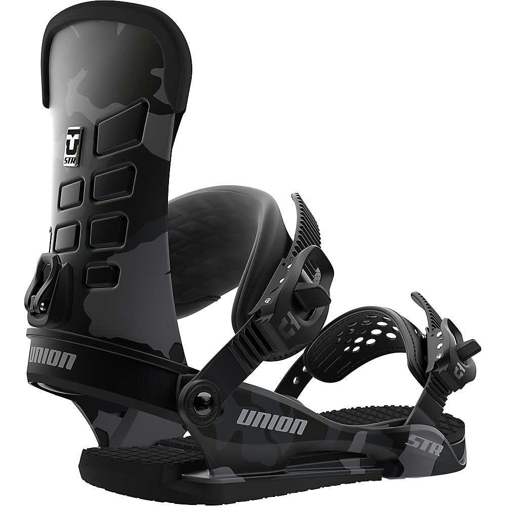 ユニオン Union メンズ スキー・スノーボード ビンディング【STR Snowboard Binding】Black-Camo