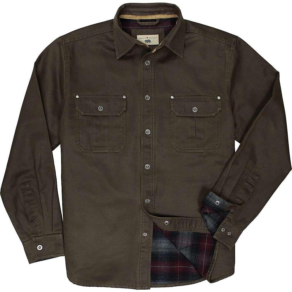 ダコタ グリズリー Dakota Grizzly メンズ ハイキング・登山 トップス【Dalton Shirt Jacket】Tobacco