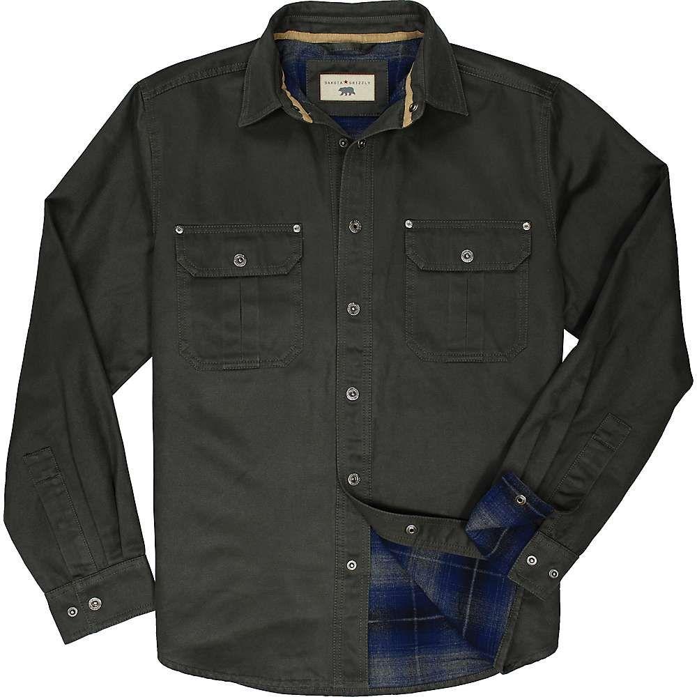 ダコタ グリズリー Dakota Grizzly メンズ ハイキング・登山 トップス【Dalton Shirt Jacket】Tarmac
