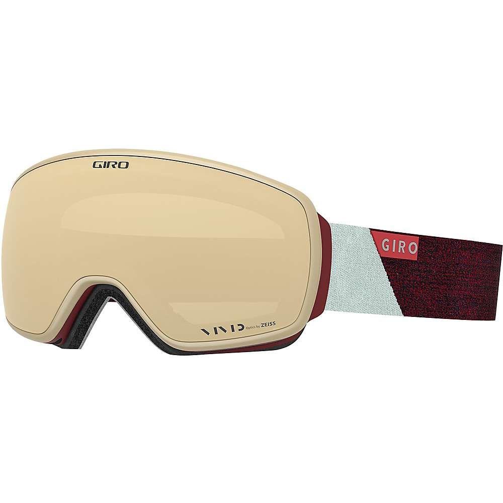 ジロ Giro レディース スキー・スノーボード ゴーグル【Eave Goggle】Scarlet/Grey Peak / Vivid Copper / Vivid Infrared