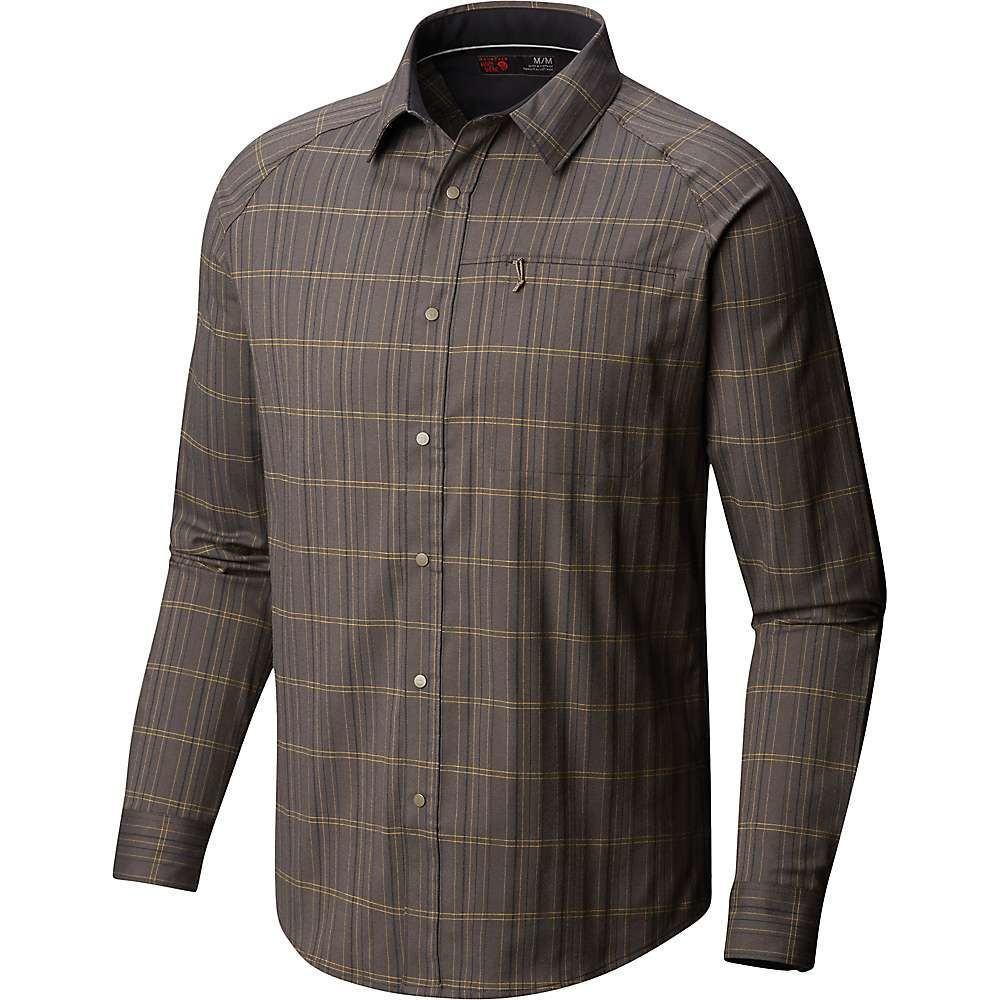 マウンテンハードウェア Mountain Hardwear メンズ ハイキング・登山 トップス【Stretchstone V LS Shirt】Darklands