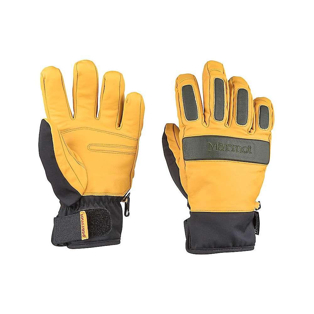 マーモット Marmot メンズ 手袋・グローブ【Tahoe Undercuff Glove】Tan / Rosin Green