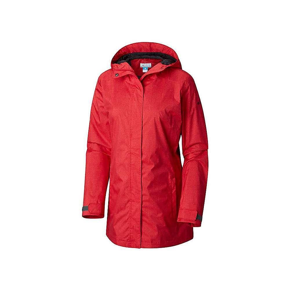 コロンビア Columbia レディース アウター レインコート【Splash A Little II Jacket】Red Mercury Stars Print