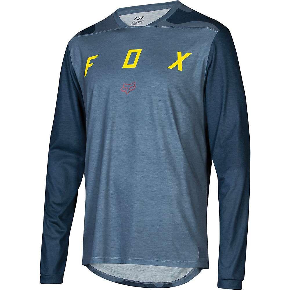 人気デザイナー フォックス Fox メンズ 自転車 トップス メンズ 自転車【Indicator LS Jersey Fox】Camo Blue Slate, 岩倉市:06b2502c --- canoncity.azurewebsites.net