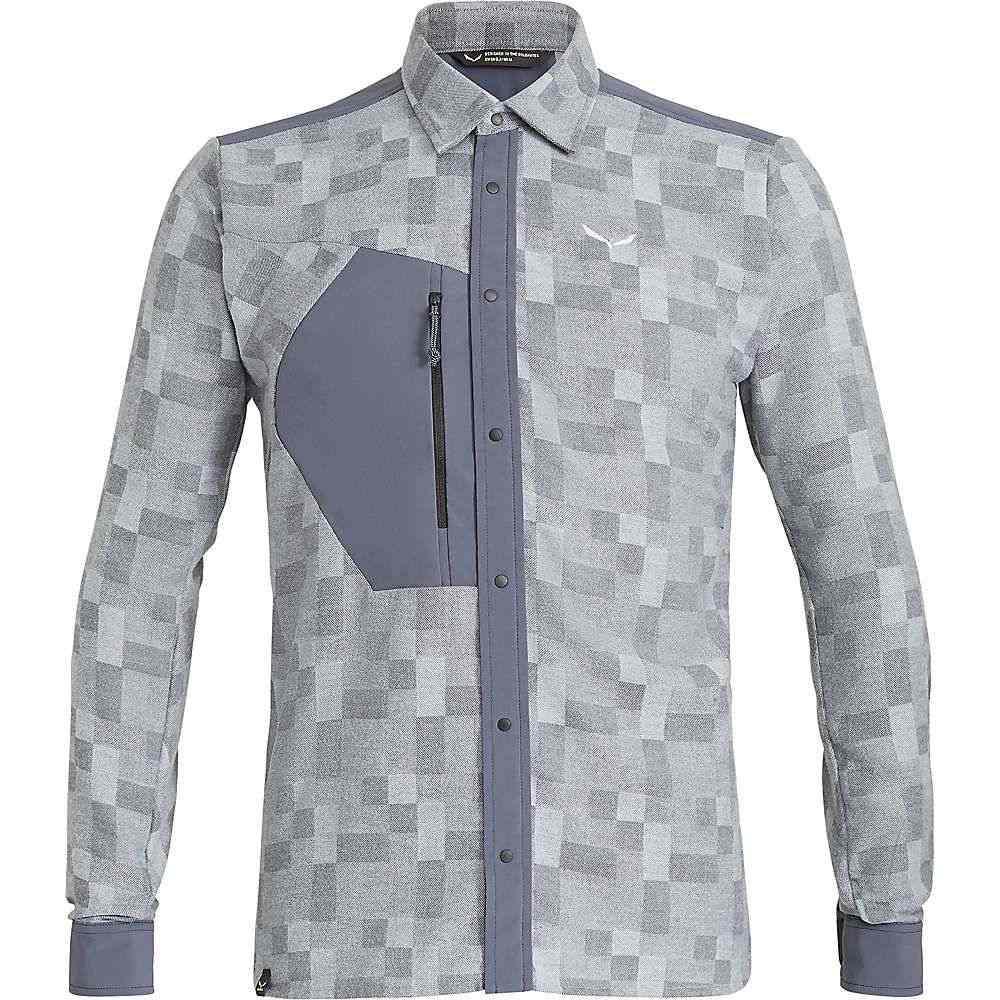 サレワ Salewa メンズ ハイキング・登山 トップス【Fanes Springer PL LS Shirt】Ombre Blue / Bluefog