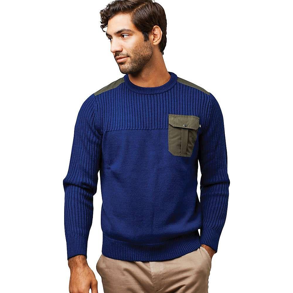 ユナイテッドバイブルー United By Blue メンズ ハイキング・登山 トップス【Wister Sweater】Navy