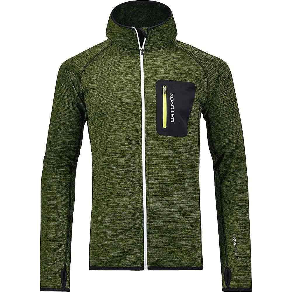 オルトボックス Ortovox メンズ ハイキング・登山 トップス【Fleece Melange Hoody】Matcha Green Blend