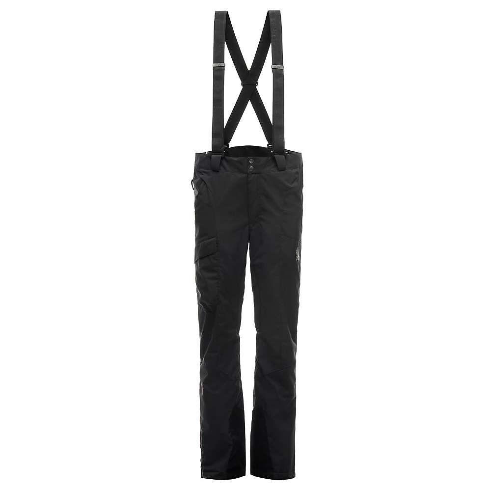 スパイダー Spyder メンズ スキー・スノーボード ボトムス・パンツ【Sentinel Tailored Pant】Black / Black