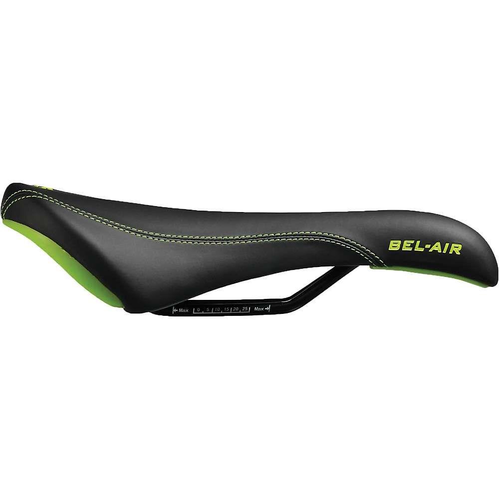 エスディジー コンポネント SDG Components ユニセックス 自転車 サドル【SDG Bel-Air RL Steel Saddle】Black / Green