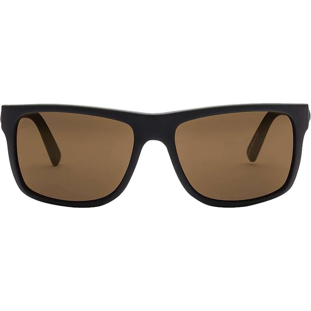 エレクトリック Electric ユニセックス メガネ・サングラス【Swingarm Polarized Sunglasses】Matte Black / Ohm Polarized Bronze