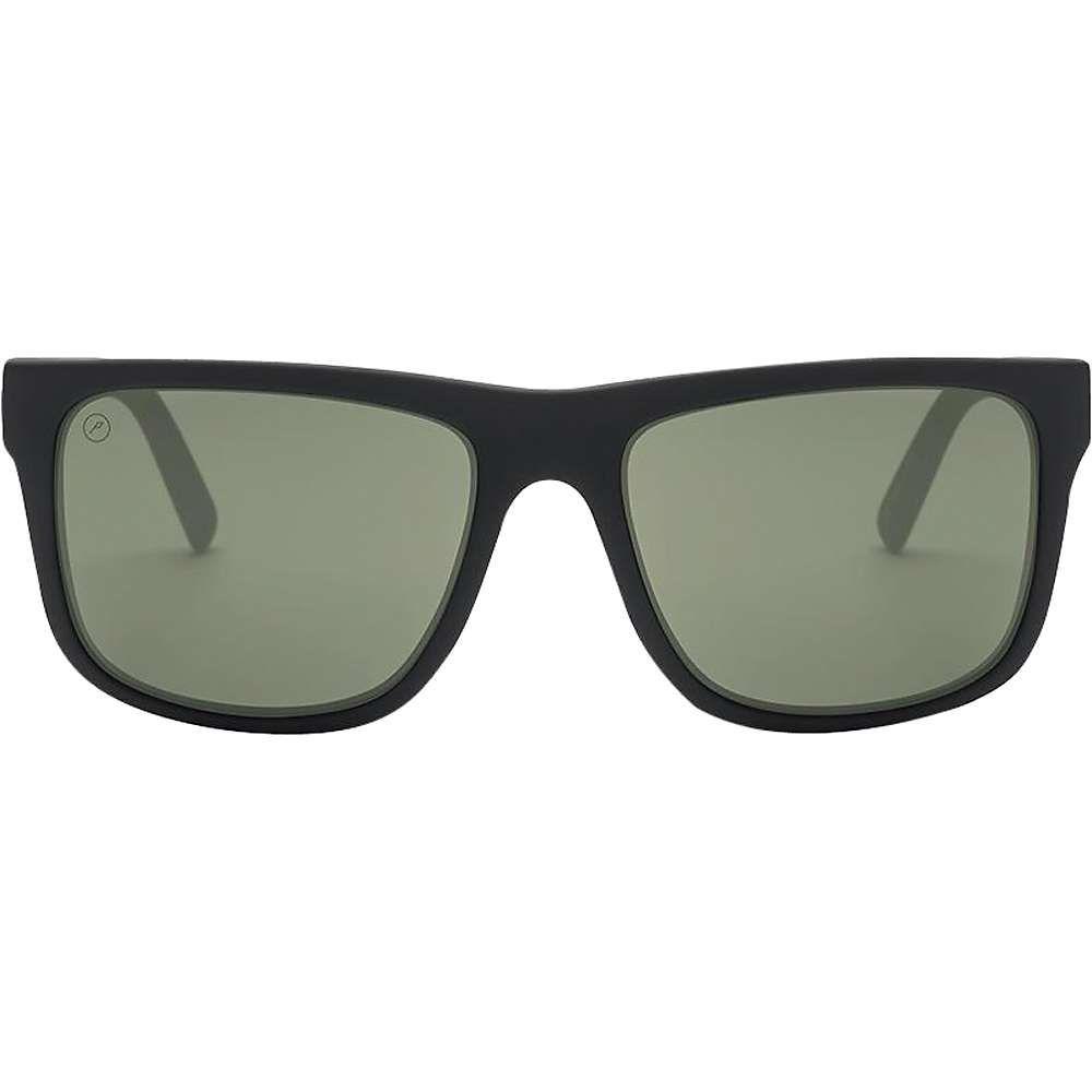 エレクトリック Electric ユニセックス メガネ・サングラス【Swingarm XL Polarized Sunglasses】Matte Black / Ohm Polarized Grey