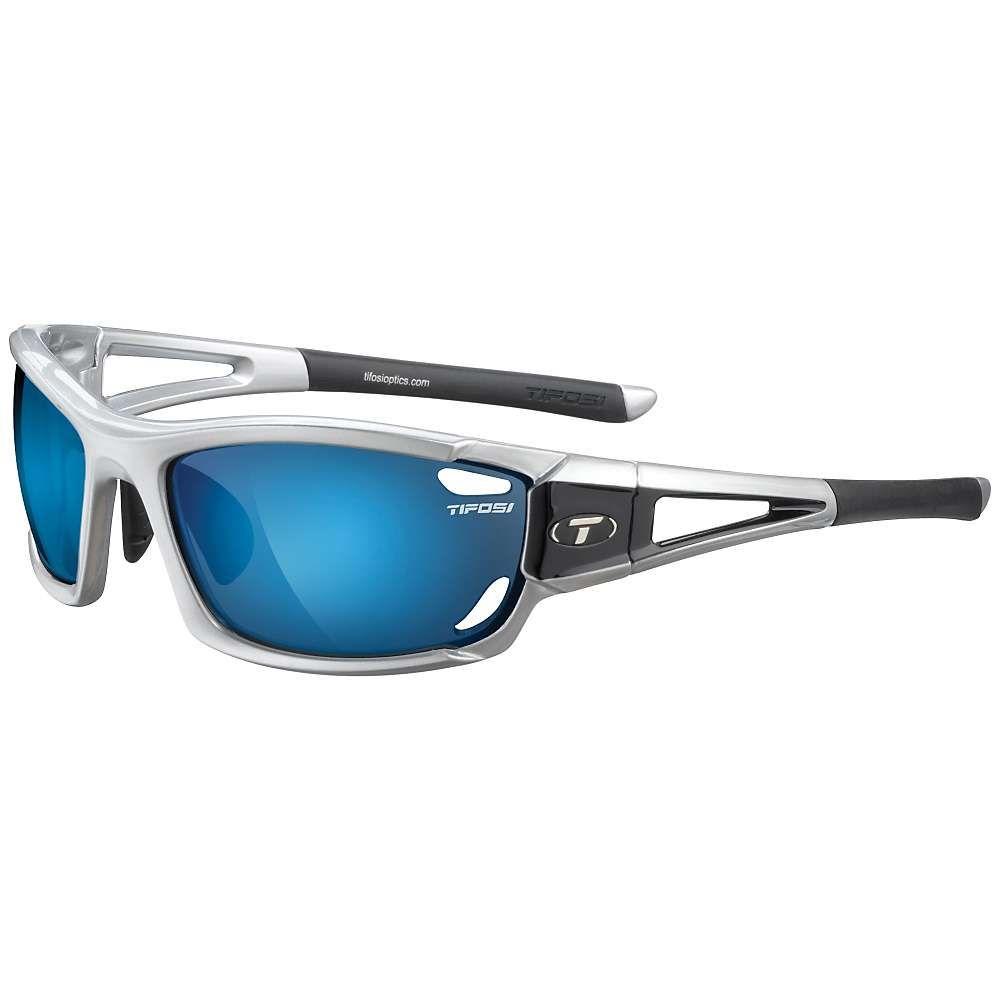 新品同様 ティフォージ Tifosi Optics メンズ スポーツサングラス【Tifosi AC Dolomite/ 2.0 Sunglasses Red】Metallic Silver/ Smoke Blue/ AC Red/ Clear, ヒチソウチョウ:ba01f4cd --- beauty100.xyz