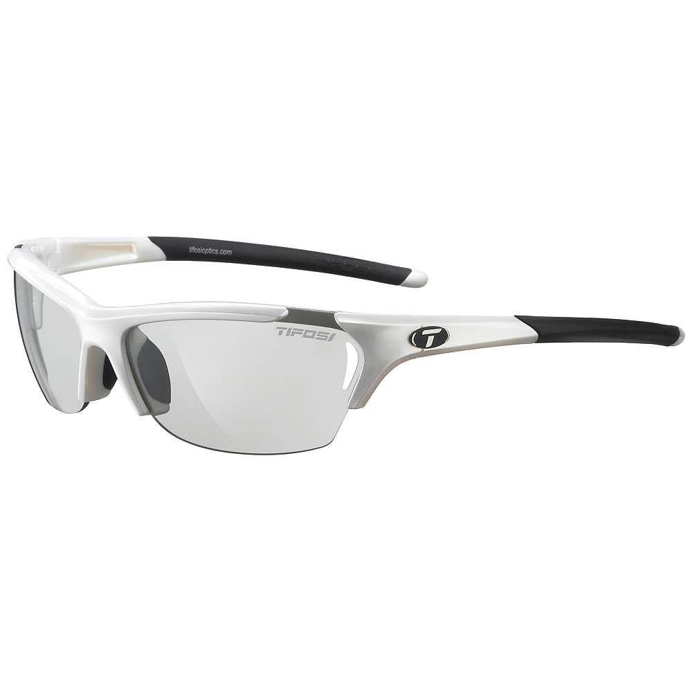 ティフォージ Tifosi Optics レディース スポーツサングラス【Tifosi Radius Sunglasses】Pearl White / Smoke Fototec