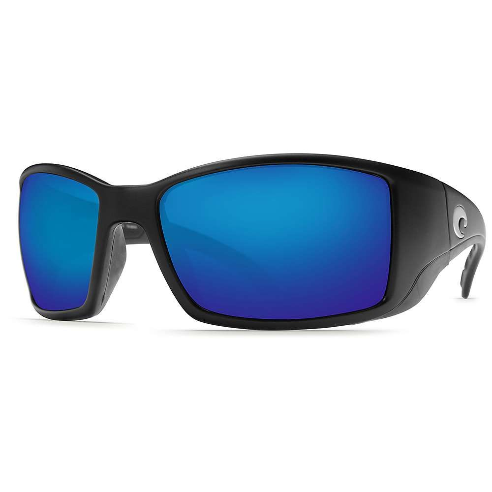 コスタデルメール Costa Del Mar メンズ スポーツサングラス【Blackfin Polarized Sunglasses】Black/Blue Glass W