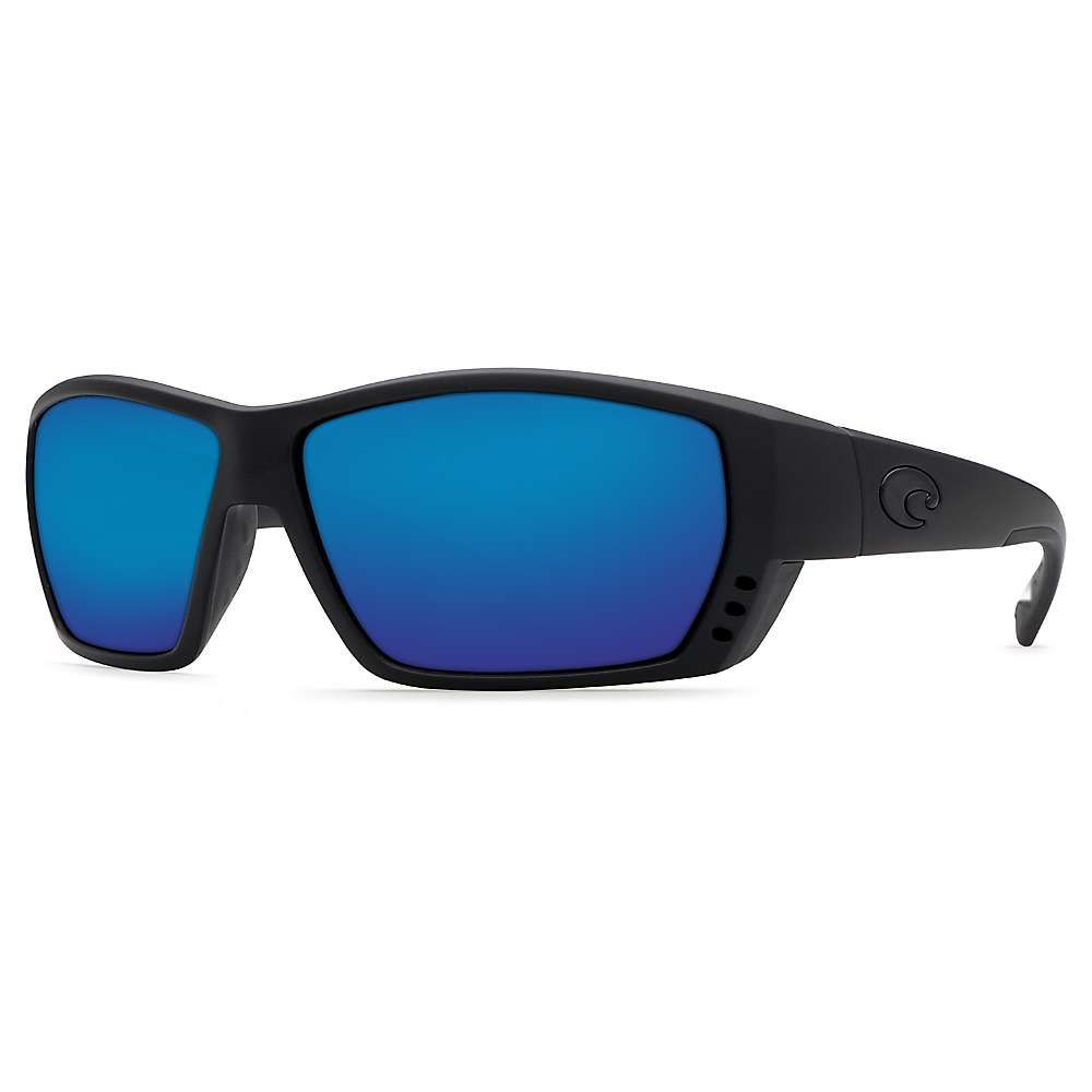 コスタデルメール Costa Del Mar メンズ スポーツサングラス【Tuna Alley Polarized Sunglasses】Blackout/Blue P