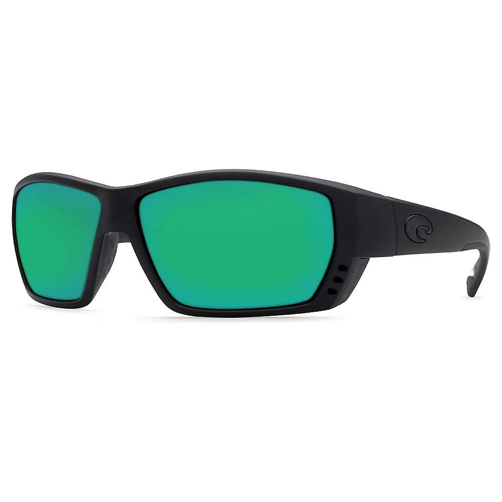 コスタデルメール Costa Del Mar メンズ スポーツサングラス【Tuna Alley Polarized Sunglasses】Blackout/Green P