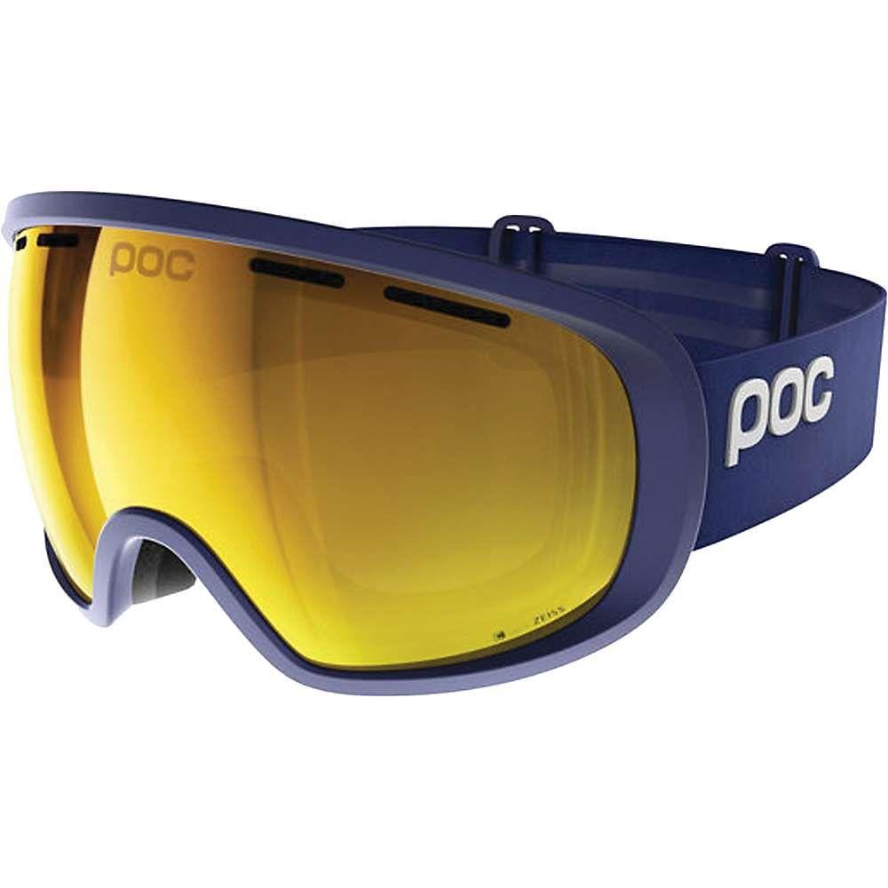 ピーオーシー POC Sports ユニセックス スキー・スノーボード ゴーグル【POC Fovea Clarity Goggle with Extra Lens】Basketane Blue / Spektris Orange
