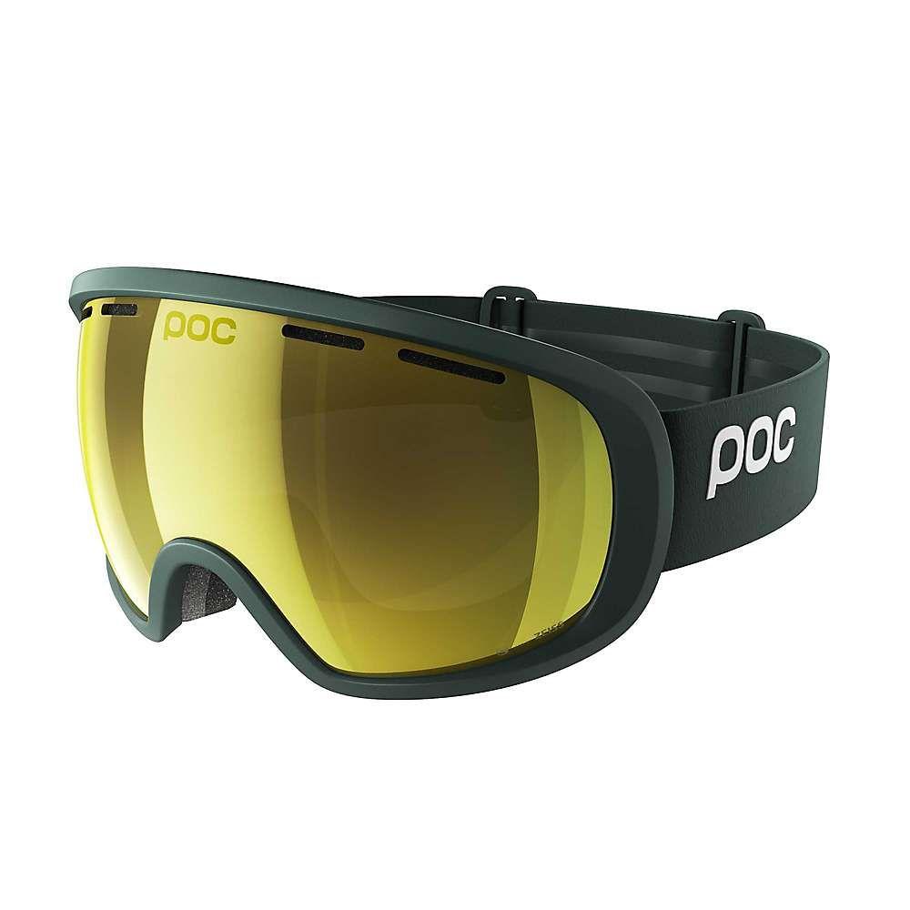 ピーオーシー POC Sports ユニセックス スキー・スノーボード ゴーグル【POC Fovea Clarity Goggle with Extra Lens】Polydenum Green / Spektris Gold
