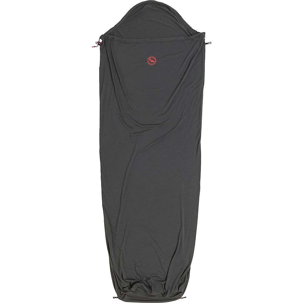 ビッグアグネス Big Agnes ユニセックス ハイキング・登山【Wool Sleeping Bag Liner】Gray