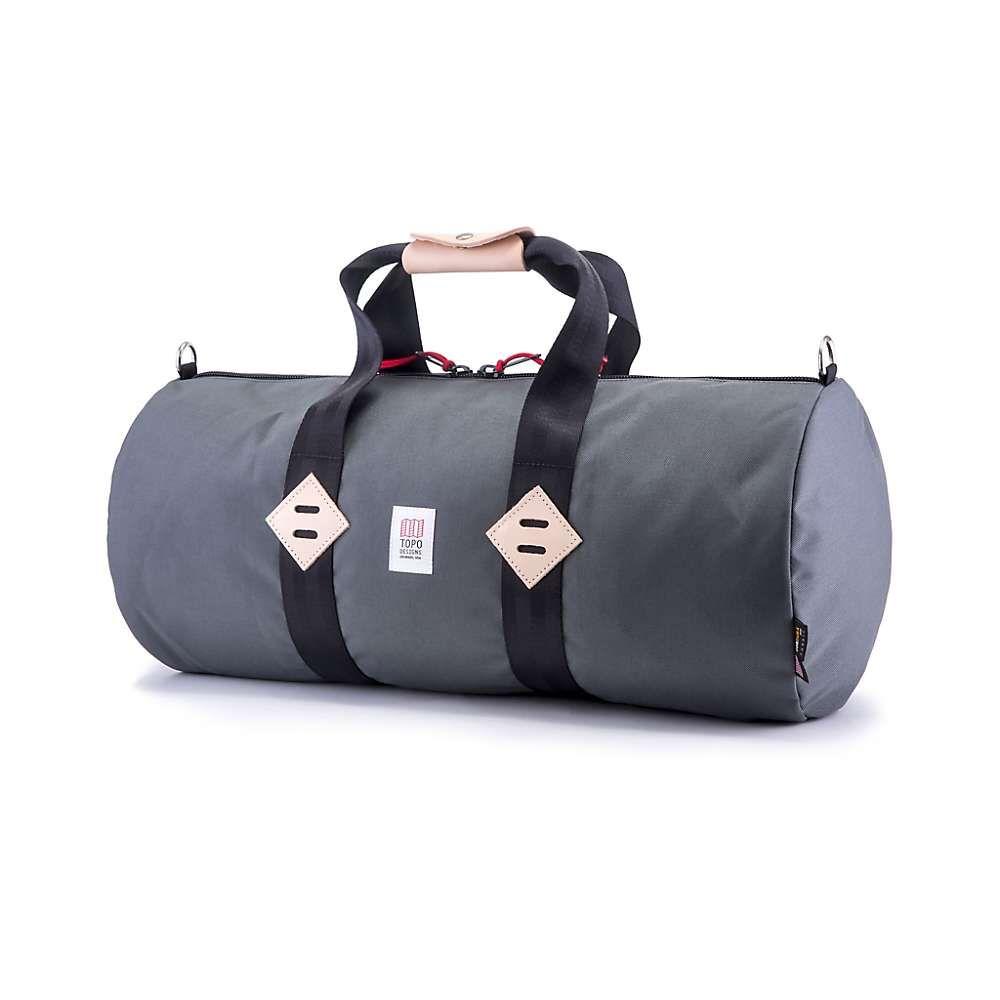 トポ デザイン Topo Designs ユニセックス バッグ ボストンバッグ・ダッフルバッグ【Classic Duffel Bag】Charcoal